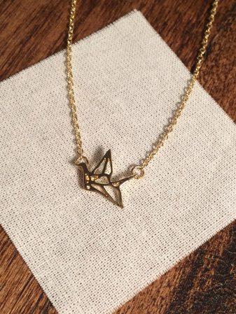 Goldchain_origamibird2